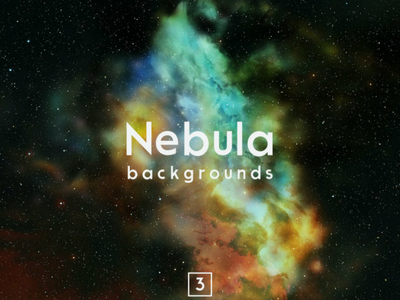 Nebula Backgrounds Vol.3 cosmic night galaxy supernova colorful stars cosmos science hubble astronomy explosion real sky nebula space