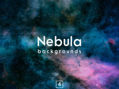 Nebula Backgrounds Vol.4 cosmic night galaxy colorful stars supernova cosmos science hubble astronomy explosion real sky nebula space