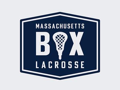 Mass Box Lax box lacrosse branding logo