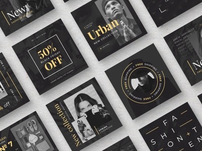 Fashion Social Media Pack template instagram template photoshop sales fashion brand sale product promo graphic design minimal modern social media marketing ads banner instagram social media social media pack smm fashion design