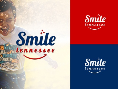 Smile Tennessee illustrator smile dentist dental corporate standard modern cool awesome minimal lettering design agency branding brand identity logotype logo design logo