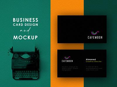 Logo and Business Card logolove modern minimalist mockup card business card design business card cool awesome minimal lettering design agency branding brand identity logotype logodesign logo