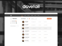 New Dovetail UI Design