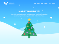 Happy Holidays from Wedler Engineering