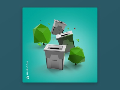 Dumpster 3D 3d art duster recycling recycle inspiration digital design concept asset 3d animation graphic design design modeling 3d artist 3d modeling art 3d