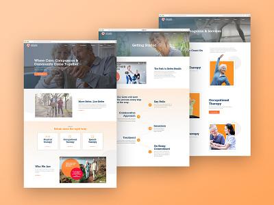 Adaptive Rehab Website web design