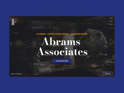 Abrams Associates interaction user experience user interface uxdesign web design
