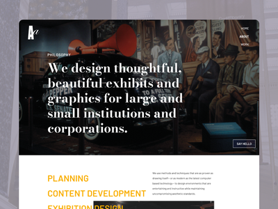 Abrams Associates website uxdesign web design