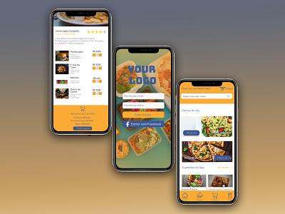 Food App - Model app app ux ui design