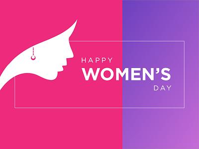 International Women's Day! day women pink happy womens day