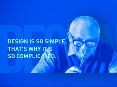 Quote2 illustration ios typography ux ui flat quote design blue rand paul