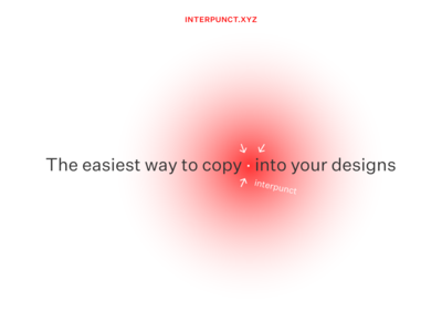 interpunct.xyz hyphen arrow interpunct untitled sans typography design ui