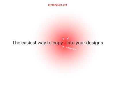 interpunct.xyz hyphen arrow interpunct untitled sans typography design ui