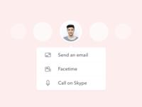 025 –– Contact Profile Card