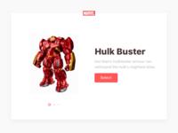 027 –– Hulkbuster Card