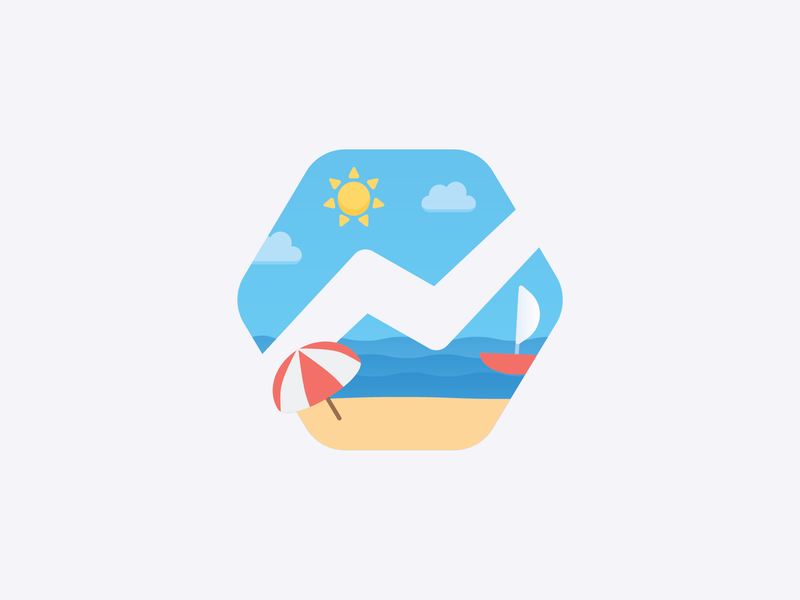Baremetrics 2018 Retreat yacht summer retreat long beach illustration chill beach baremetrics