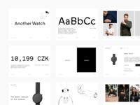 Another Watch · Branding