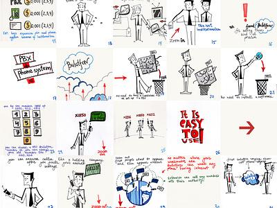 Bulutfon Animation  bulutfon animation cartoon business flat blue design drawing simple
