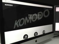 Komodo Digital Website