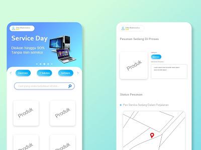 Life-service | mobile app ui design design app ux ui