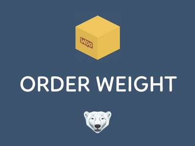 WooCommerce Order Weight