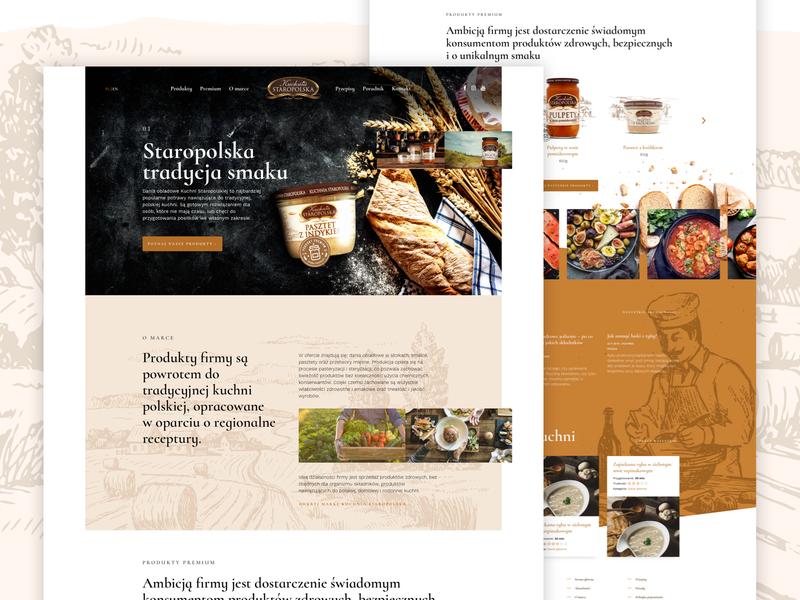 Kuchnia Staropolska Producer Of Meals Website By Adam For