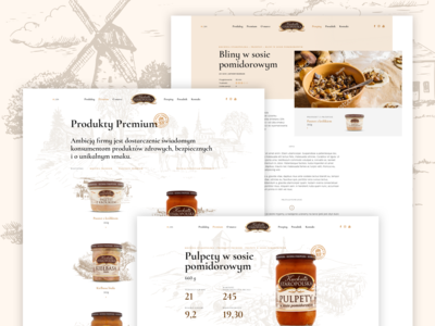 Kuchnia Staropolska - Producer of meals website | subpages