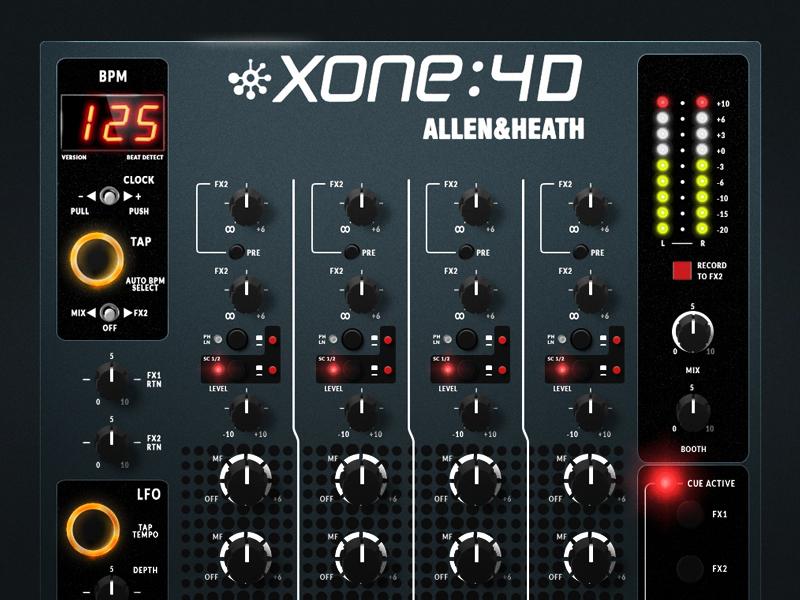 Mixer - Allen & Heath mixer remake sound music