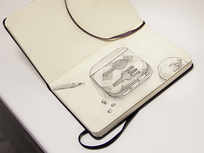 One more sketch icon ios ipad iphone cookbook app sketches pencil
