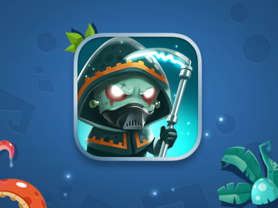 Icon for Mushroom Wars Space animation icon ui gui game