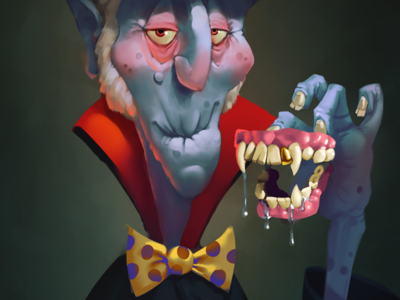 Old Vampire character