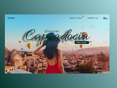 Cappadocia web design ui