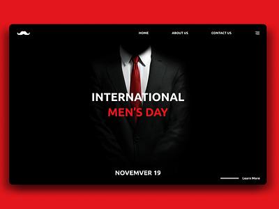 International Men's Day Special ui graphicdesign design