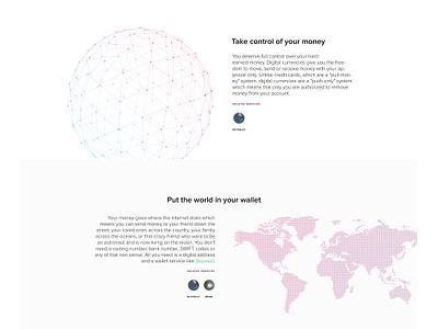 Bitancial Redesign landing page mock-up redesign bitancial