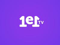 1e1.tv Logo Design