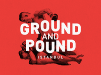 Ground and Pound - Logo Design V2
