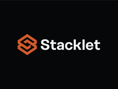 Stacklet security cloud brand logo