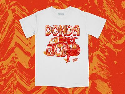 DONDA SHERP typography sherpa yeezy kanye apparel illustration