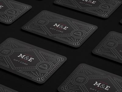 M&E Gift Card