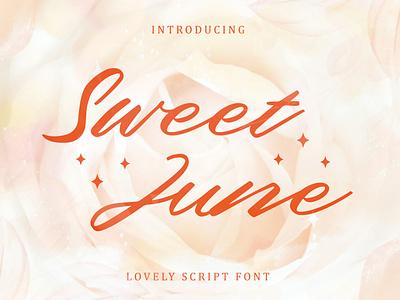 Sweet June – Lovely Script Font jewelry