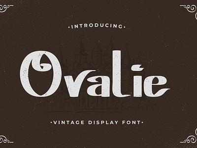 Ovalie - Vintage Display Font poster