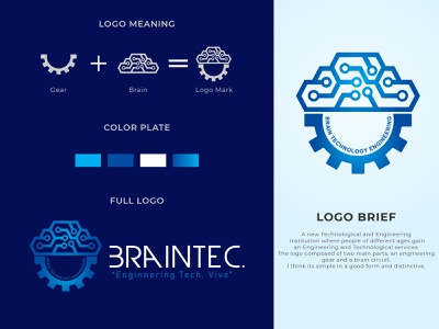 """BRAINTEC"" Brand identity and logo design logo design concept technology icons technology logo technological technology technical tech logo engineering logo logodesign branding design brand identity logo design branding stationery design stationery brand branding brand design logo mark logo logo design"