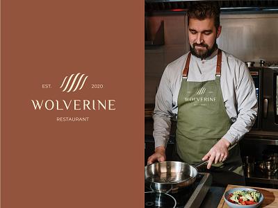 WOLVERINE | RESTAURANT food branding restaurant design logotype wolverine graphic design logo