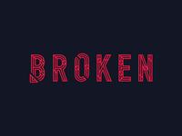 Broken Typography