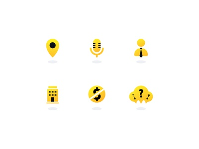 Website Icon Family web family pack free building faq microphone location tie yellow design icon