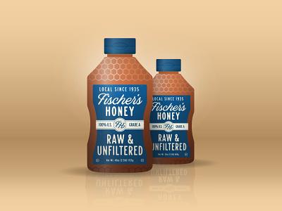 Fischer's Honey Packaging Concept