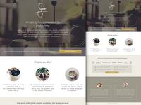 Sano - Click Through Landing Page
