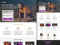 Fitspo - Lead Generation & Click Through Template