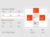Windows8 App Time Picker