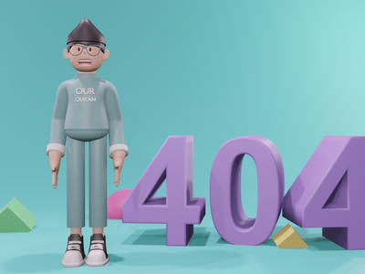 404 Page Not Found 404 error page 404 error 404 page 404page 3d art icon 3d artist 3d illustration design app ux uiux dailyui ui